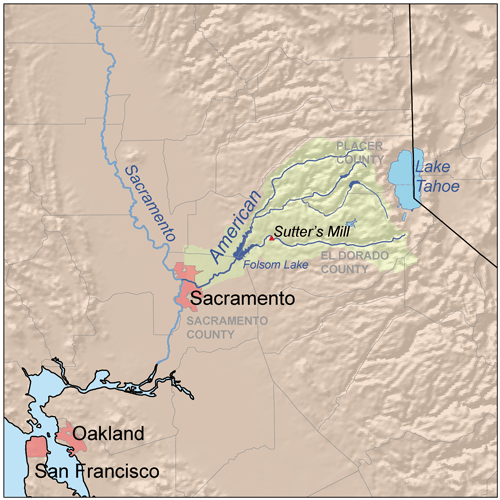 Americanrivermap