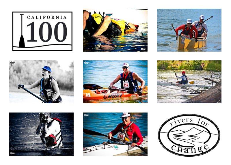 California 100 photo collage