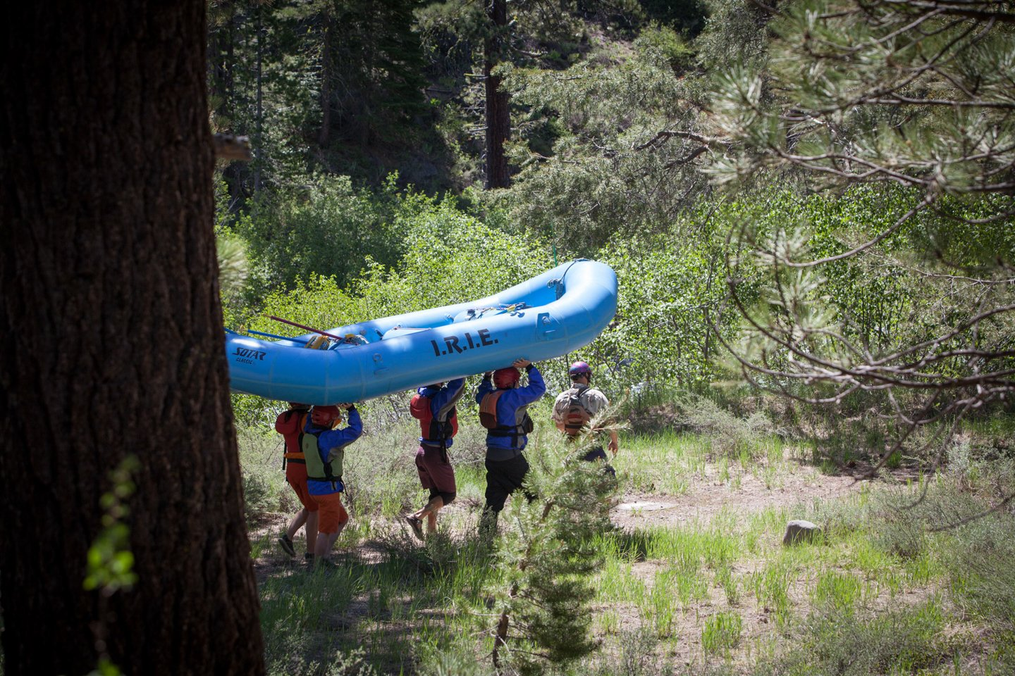 2018 Upper Truckee River Route