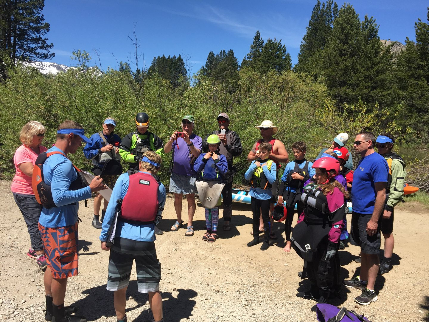 2017 Truckee River Core Paddling Team