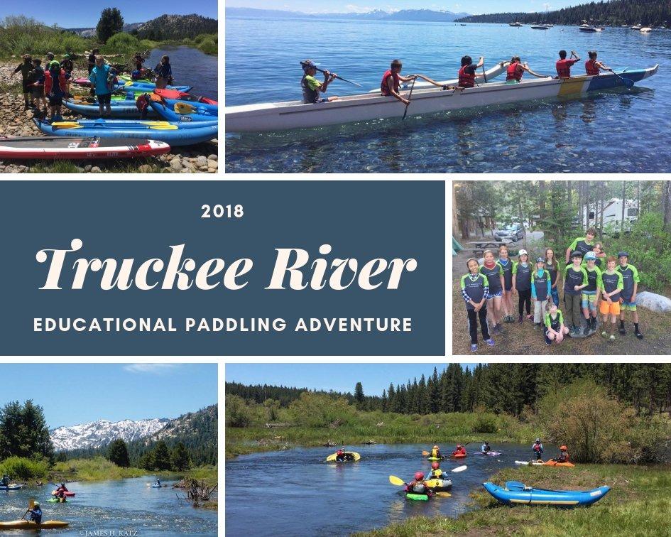 2018 Truckee River Educational Paddling Adventure