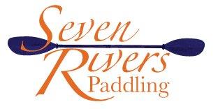 Seven rivers paddling logo