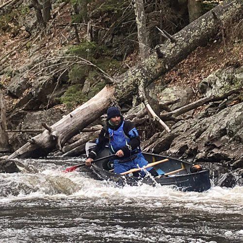 Fun rapids in Raymond, NH