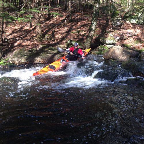 rocky kayak send