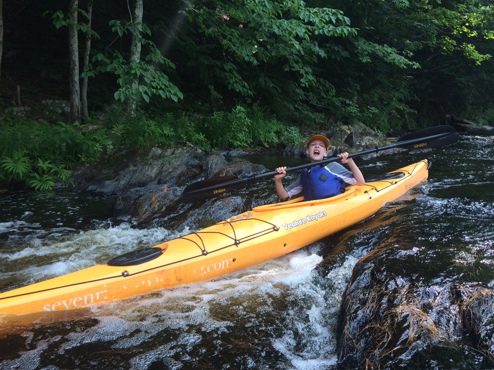 Lamprey River Source to Sea Paddling Camp Recap