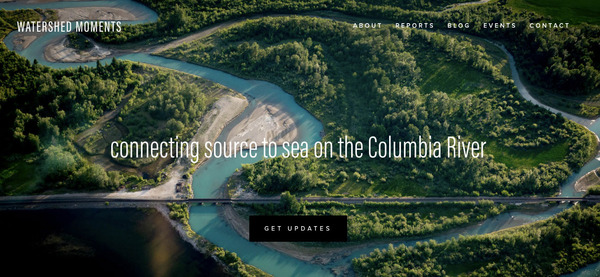 connecting source to sea on the columbia river