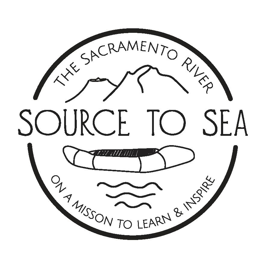 The sacrament river source to sea logo